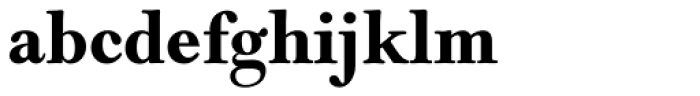 Monotype Goudy Modern Std Bold Font LOWERCASE