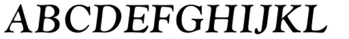 Monotype Goudy Pro Bold Italic Font UPPERCASE