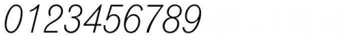 Monotype Grotesque Std Light Italic Font OTHER CHARS