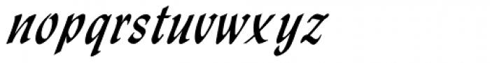 Monotype Lydian Std Cursive Font LOWERCASE