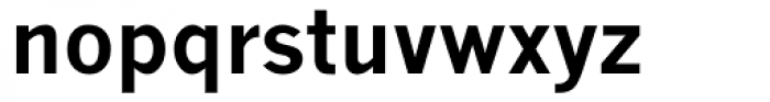 Monotype News Gothic CE Bold Package Font LOWERCASE