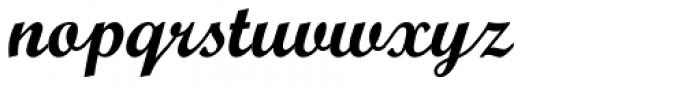 Monotype Script Pro Bold Font LOWERCASE