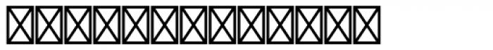 Monotype Sorts Font UPPERCASE