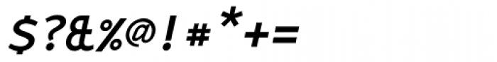 Monox SC Bold Italic Font OTHER CHARS