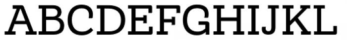 Monroe Regular Font UPPERCASE