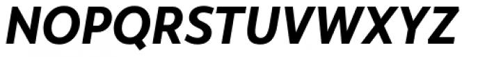 Monsal Gothic Bold Italic Font UPPERCASE