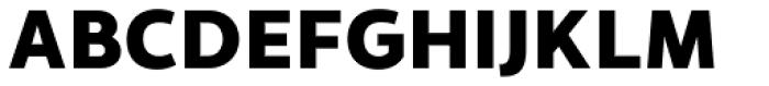 Monsal Gothic ExtraBold Font UPPERCASE