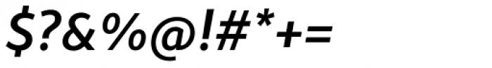 Monsal Gothic Medium Italic Font OTHER CHARS
