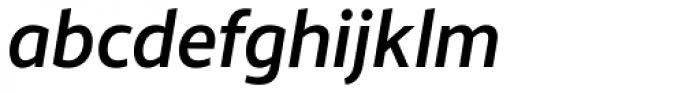Monsal Gothic Medium Italic Font LOWERCASE