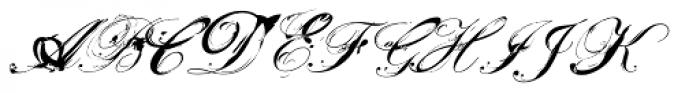 MonsterDays Alternate Font UPPERCASE