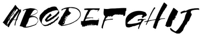 MonsterHand Font UPPERCASE