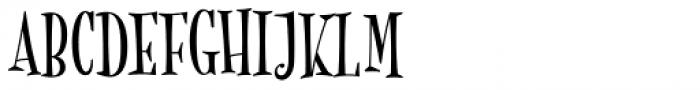 MonsterPie Regular Font UPPERCASE