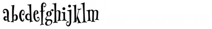 MonsterPie Regular Font LOWERCASE