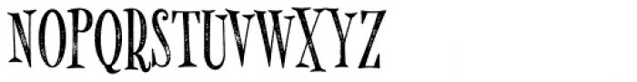 MonsterPie Rough Font UPPERCASE