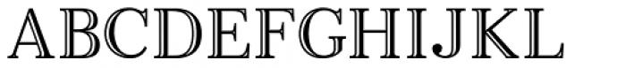 Monstice Engraved Font UPPERCASE