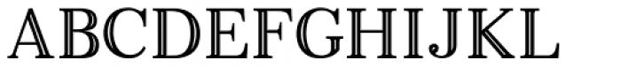 Monstice Inline Font UPPERCASE