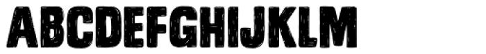 Monstro Font LOWERCASE