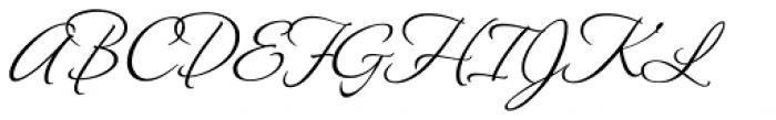 Montague Script Font UPPERCASE
