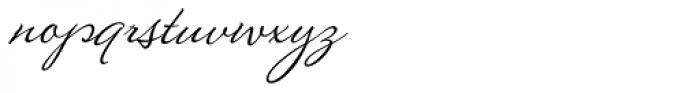 Montague Script Font LOWERCASE