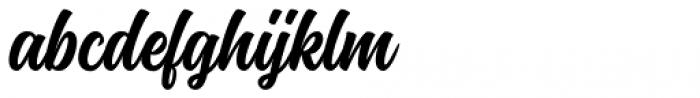 Montana Typeface Font LOWERCASE