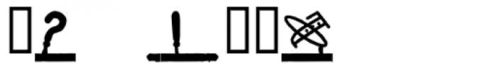 Montaplex Regular Font OTHER CHARS