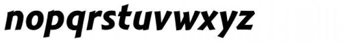 Montara Bold Italic Font LOWERCASE