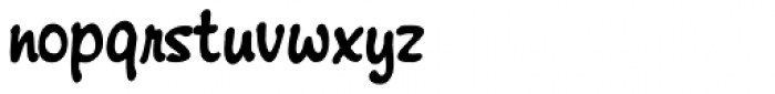 Montauk Pro Bold Font LOWERCASE