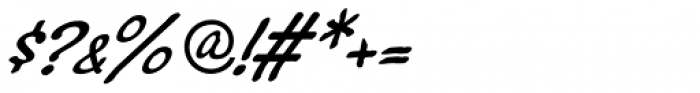 Montauk Pro Italic Font OTHER CHARS