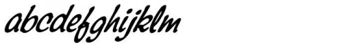Montauk Pro Italic Font LOWERCASE