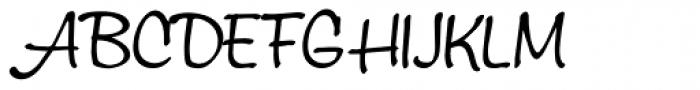 Montauk Pro Light Font UPPERCASE