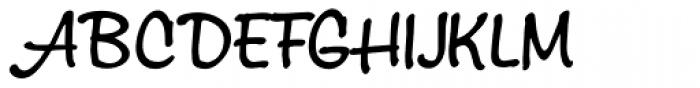 Montauk Pro Regular Font UPPERCASE
