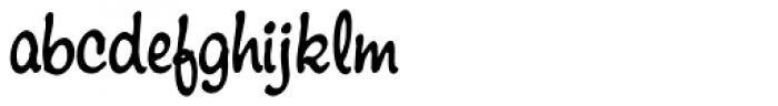Montauk Pro Regular Font LOWERCASE