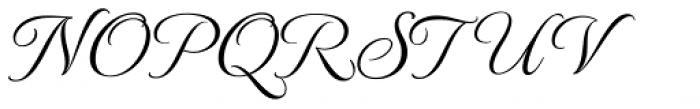 MonteCarlo Pro Font UPPERCASE