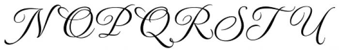 MonteCarlo Script A Font UPPERCASE