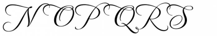 MonteCarlo Script B Font UPPERCASE