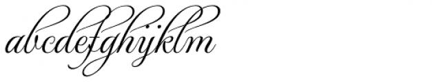 MonteCarlo Script B Font LOWERCASE