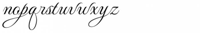 MonteCarlo Script C Font LOWERCASE