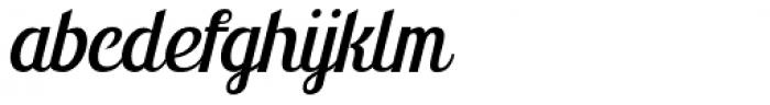 Montello Italic Font LOWERCASE