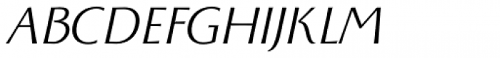 Monterchi Book Italic Font UPPERCASE