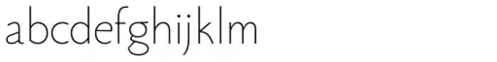 Monterchi Sans Thin Font LOWERCASE
