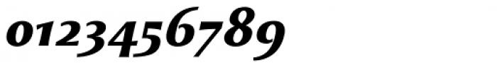 Monterchi Text Extrabold Italic Font OTHER CHARS