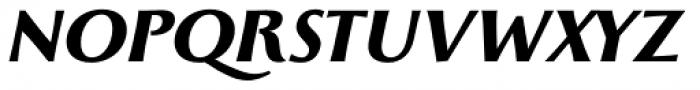 Monterchi Text Extrabold Italic Font UPPERCASE