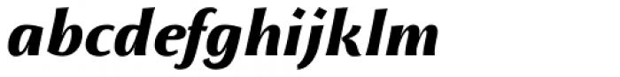 Monterchi Text Extrabold Italic Font LOWERCASE