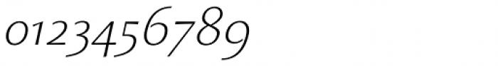 Monterchi Text Light Italic Font OTHER CHARS
