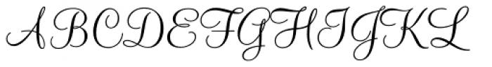 Monterey Font UPPERCASE