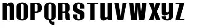 Monterra Biform SemiBold Font LOWERCASE