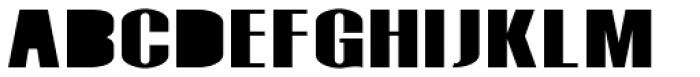 Monterra Fill ExtraBold Font UPPERCASE