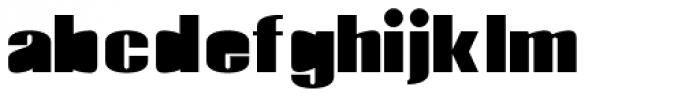 Monterra Fill ExtraBold Font LOWERCASE