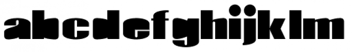 Monterra Fill Fat Font LOWERCASE