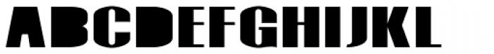 Monterra Fill Heavy Font UPPERCASE